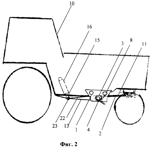 Универсальный корректор сцепного веса колесного трактора типа мтз