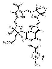 Катионный пурпуринимид, обладающий антибактериальной активностью, и его применение для фотодинамической инактивации бактериальных биопленок