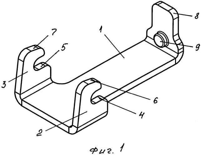 Фиксирующий механизм с зацепом для скобы ботинка и способ его изготовления