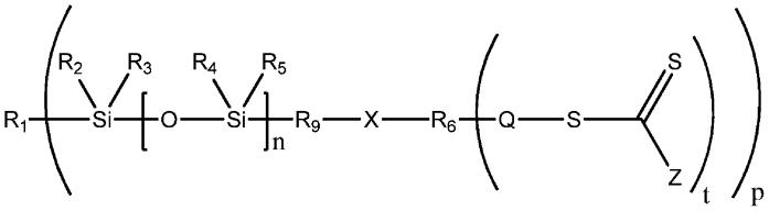 Нереакционноспособные гидрофильные полимеры с концевыми силоксанами и области их применения