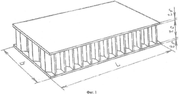 Жаростойкая сотовая конструкция