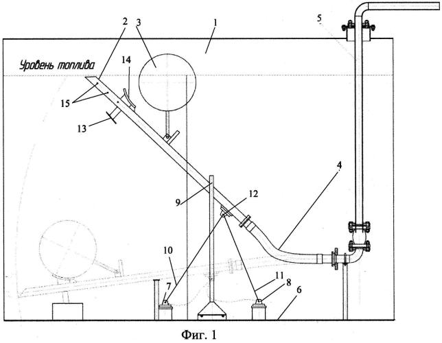 Плавающее заборное устройство резервуара