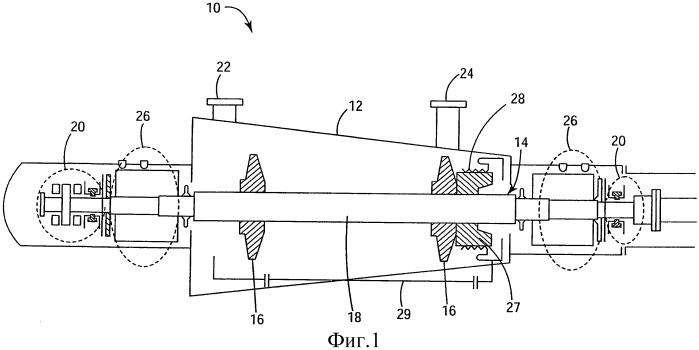 Многоступенчатый компрессор, способ изготовления компрессора и ротационная установка