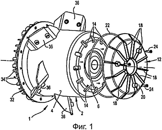 Ротор электрического мотора с наружным ротором и мотор с наружным ротором