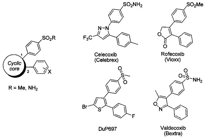 2-арилзамещенные n-арилимидазолины селективные ингибиторы циклооксигеназы-2, способы их получения и применения