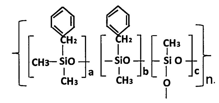 Полиметилбензилсилоксаны и способ их получения