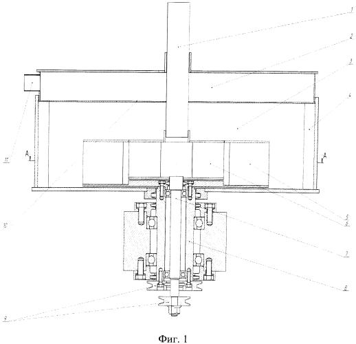Роторно-вихревая мельница тонкого помола 2