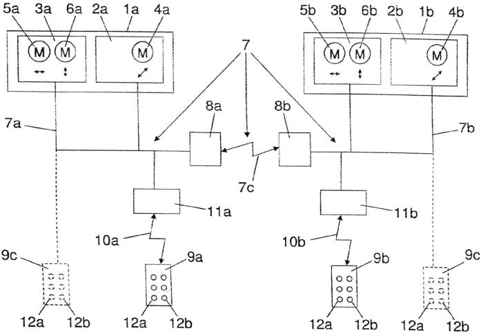 Способ управления двумя и более грузоподъемными устройствами, в частности подъемными кранами, и средства управления для осуществления этого способа