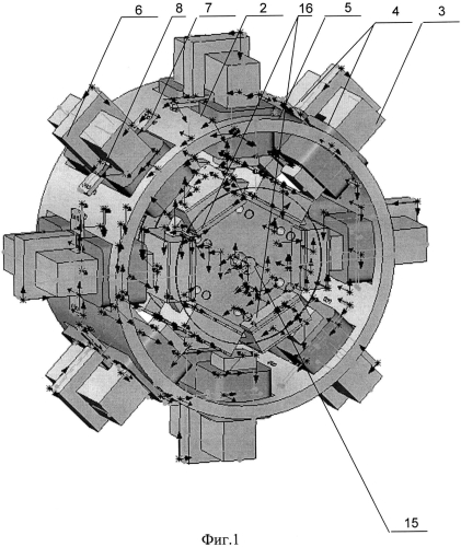 Бесколлекторный синхронный генератор с постоянными магнитами