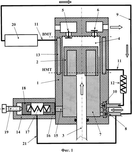Способ работы поршневого гидропневматического агрегата и устройство для его реализации