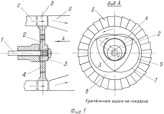 Мультипликатор к газотурбинному двигателю