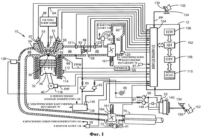 Способ определения состояния впускного воздушного фильтра двигателя (варианты) и система диагностики впускного воздушного фильтра