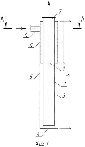 Циклонный теплообменный элемент рекуператора