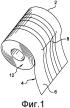 Система распределения ленты с поглощающим материалом, смотанной в соответствующий рулон