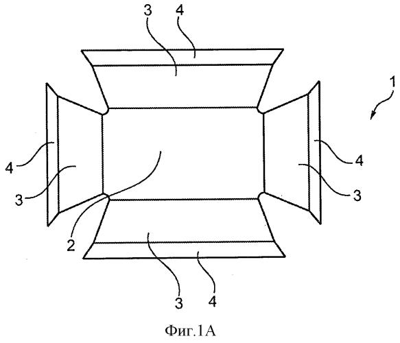 Упаковка для упаковывания в модифицированной газовой среде