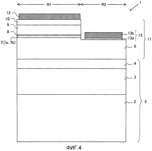 Нитридный полупроводниковый элемент и способ его изготовления