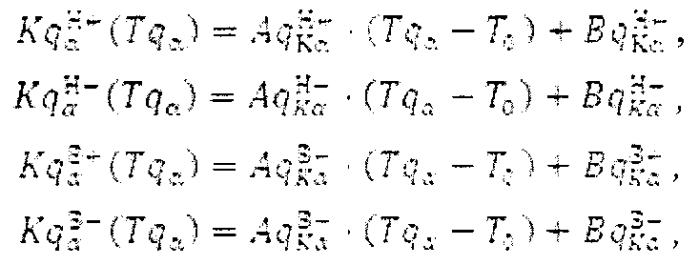 Способ определения температурных зависимостей масштабных коэффициентов, смещений нуля и матриц ориентации осей чувствительности лазерных гироскопов и маятниковых акселерометров в составе инерциального измерительного блока при стендовых испытаниях