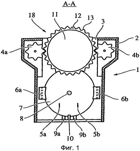 Заварочное устройство с распознаванием капсулы