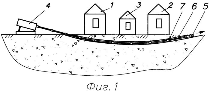 Способ доставки взрывных устройств с помощью установки горизонтально-направленного бурения