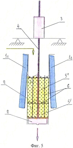 Способ формования железобетонных конструкций посредством опускающегося бетона