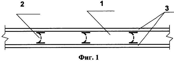 Звукоизолирующая каркасно-обшивная перегородка с перфорированными стоечными профилями изогнутой формы