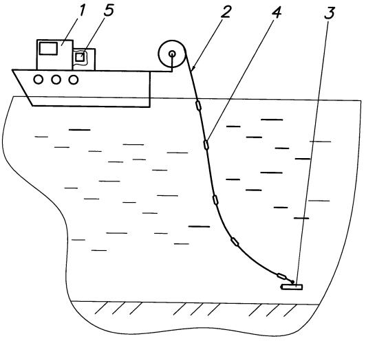 Способ позиционирования подводного оборудования относительно судна-носителя