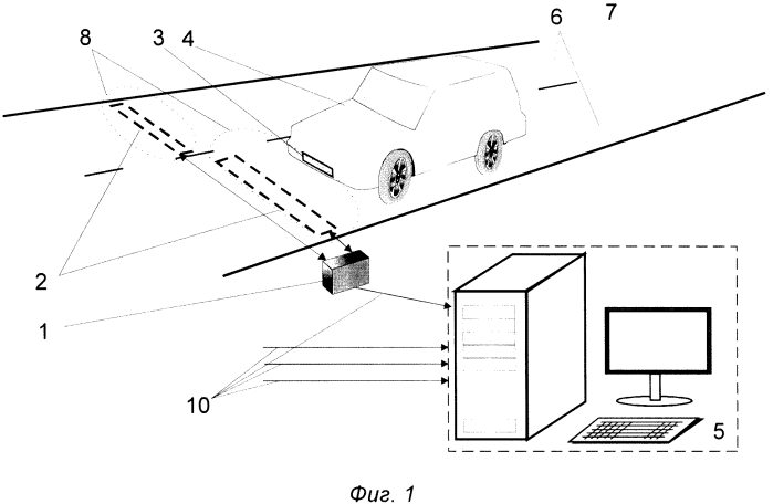 Индукционная система обнаружения и идентификации транспортных средств