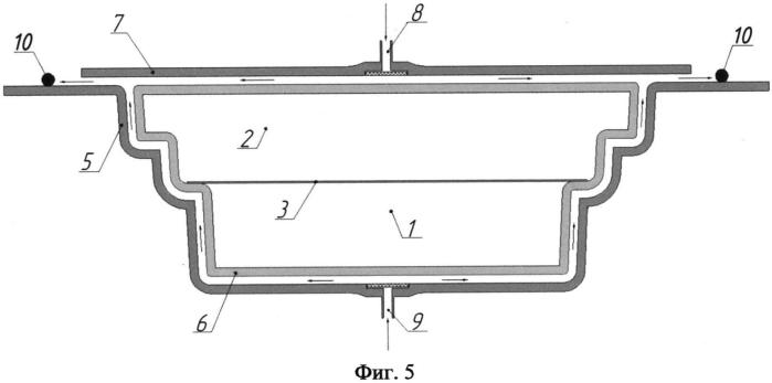 Способ изготовления блоков термоизоляционной герметичной стенки емкости нового типа из полимерных композиционных материалов для сжиженного природного газа