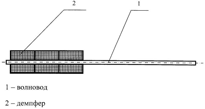 Демпфер для магнитострикционного преобразователя