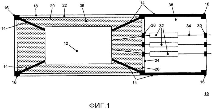 Модуль высоковольтного трансформатора