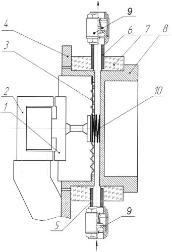 Система жидкостного охлаждения силового полупроводникового прибора