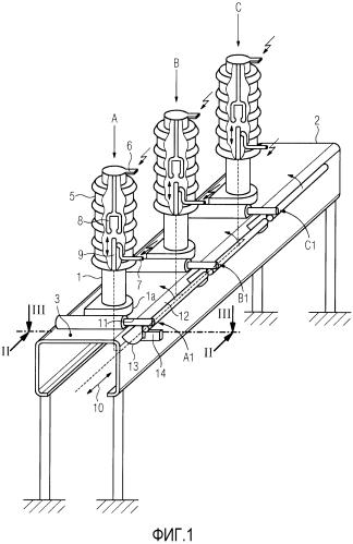 Приводная система силового выключателя