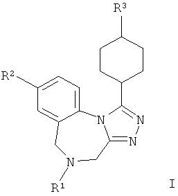 Арил-циклогексил-тетраазабензо[е]азулены