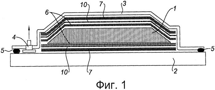 Способ изготовления детали из композитного материала с полым сердечником