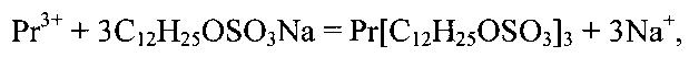 Способ извлечения солей празеодима (iii)