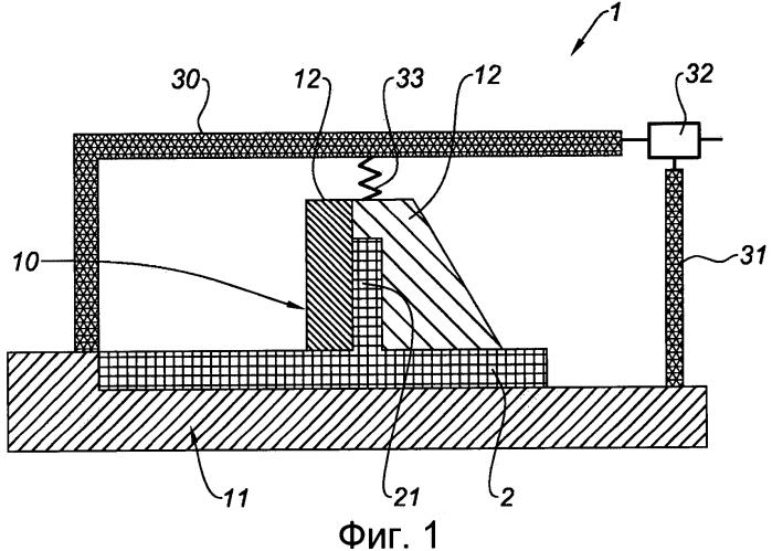 Устройство для изготовления композитной детали путем инжекции смолы