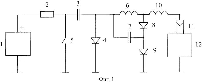 Способ формирования электрических импульсов, имитирующих электростатические разряды с элементов плазменных двигателей космических аппаратов, и устройство для его осуществления