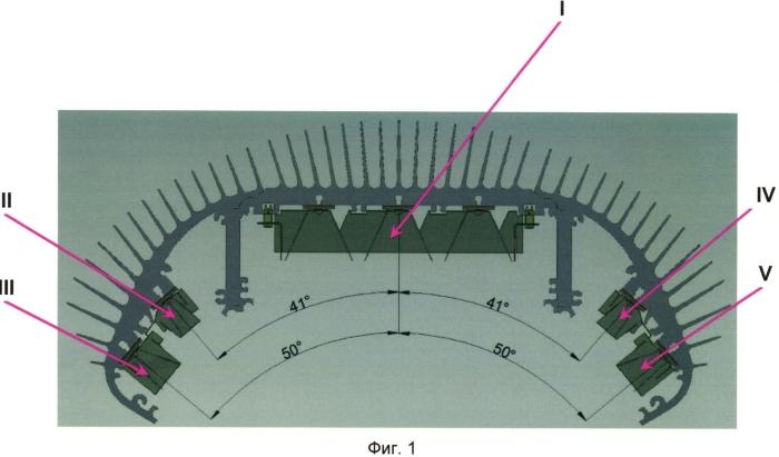 Оптическая система и способ освещения поверхности