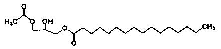 Способ получения 1-пальмитоил-3-ацетилглицерина и способ получения 1-пальмитоил-2-линолеоил-3-ацетилглицерина с использованием этого соединения