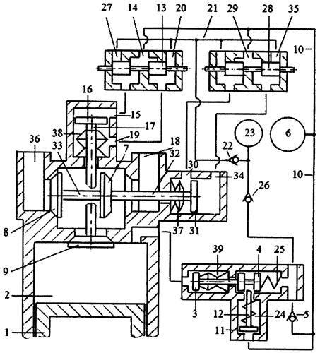 Способ привода двухприводного газораспределителя двигателя внутреннего сгорания пневматической системой привода с зарядкой пневмоаккумулятора системы привода газом из компенсационного пневмоаккумулятора