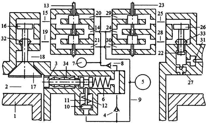 Способ реверсирования вращения коленчатого вала двигателя внутреннего сгорания системой пневматического привода газораспределительного клапана с зарядкой пневмоаккумулятора системы газом из компенсационного пневмоаккумулятора и системой управления топливной форсункой