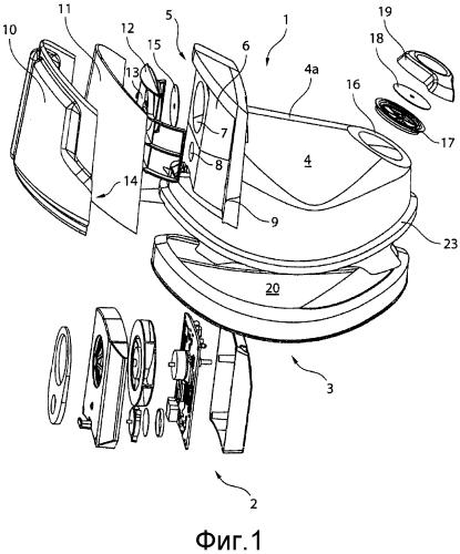 Полнолицевая маска для электроприводного воздухоочистительного респиратора (papr)