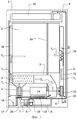Бытовой прибор, в частности сушилка для белья
