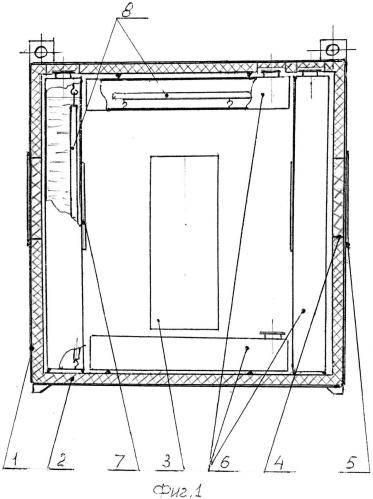 Способ использования естественных (природных) ресурсов холода для функционирования модульных холодильников и устройство для его осуществления