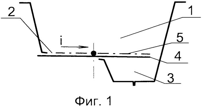 Унитаз с клапаном, разделяющим отходы