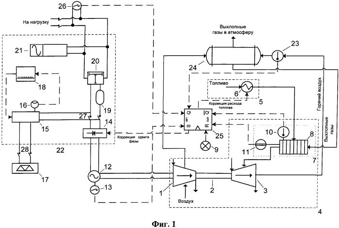 Система генерирования электрической энергии