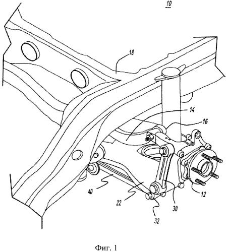Независимая подвеска задних колес