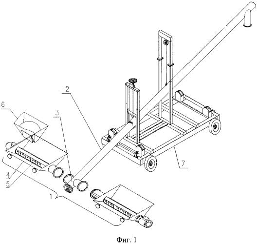 Способ перегрузки сыпучего материала из железнодорожных вагонов-хопперов