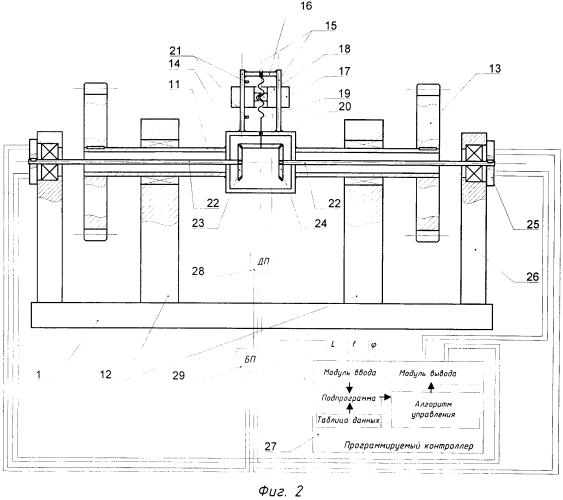 Способ автоматического подавления вибрации помольно-смесительного агрегата