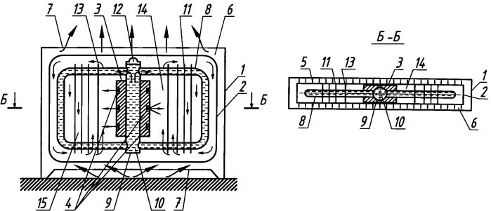 Теплоаккумулирующий отопительный прибор